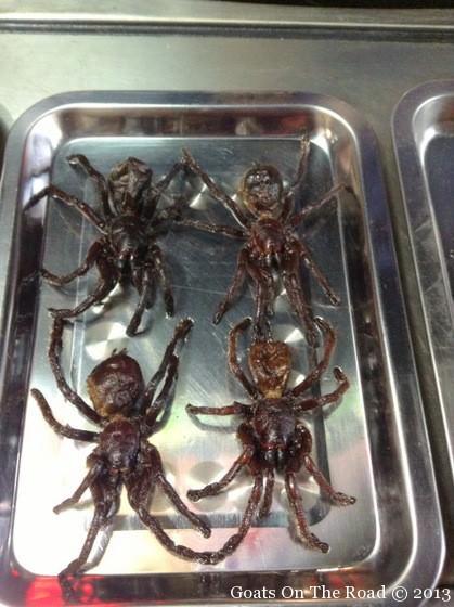 Let's Go Get a Fried Spider!