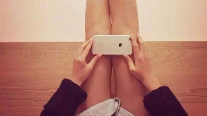Is Your iPhone Covering Your Knees?