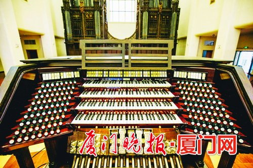 Double Pipe Organ Shipped Across the Pacific