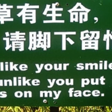 As Much As I Like Your Smile…