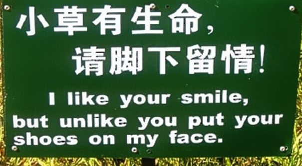 As Much As I Like Your Smile...